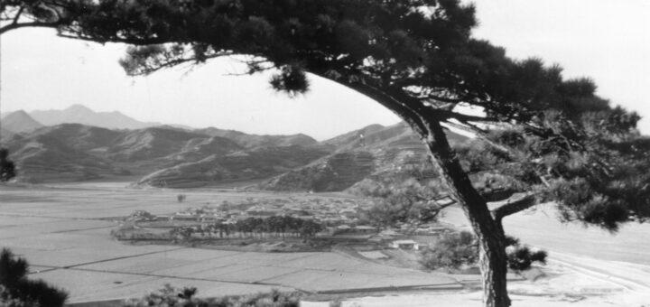 le village de Kisong, (1974 09 30) Kyòngsang du Nord, Corée du sud